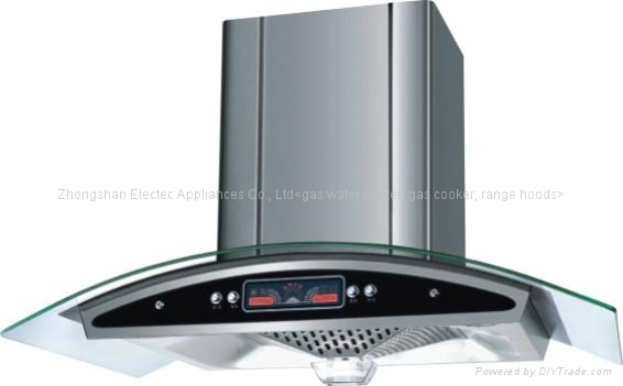 Cooker Hood Tempered Glass Panel With Color Display(TRH-108C) 1