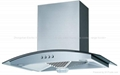 Cooker Hood Tempered Glass Panel With Color Display(TRH-109S)