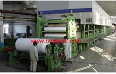 1880mm paper machine (printing, writing