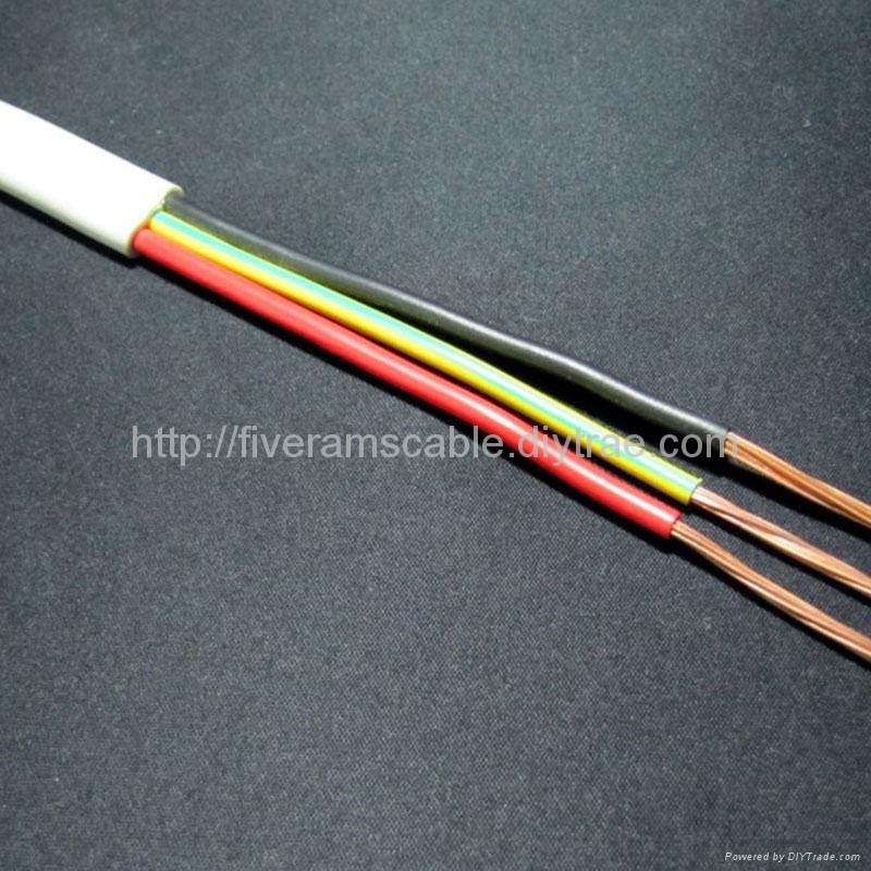 Flat Electrical Cable : Australia applicable mm flat twin earth power cable