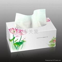 前置式紙巾盒