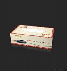 禮品廣告紙巾盒