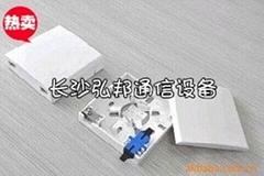 86型3口光纖桌面盒