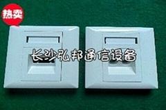 86型4口光纖桌面盒