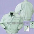 上海工作服长袖夹克 1
