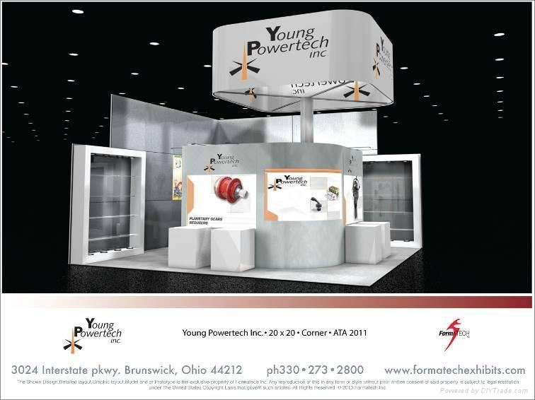 Exhibition Booth Price : Special booth design and production acme china
