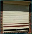 电动遥控型铝合金外遮阳卷帘窗 3