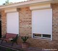 手摇钢丝型外遮阳卷帘窗