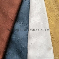 Crushed Voile Curtain Fabric