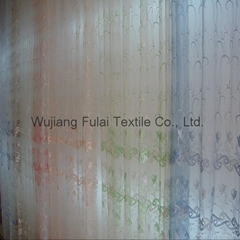 Embroidery Organza of Curtain Fabric