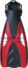 adult professional scuba diving fins