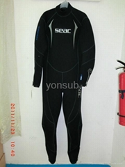 neoprene wet suit diving skin diving suit