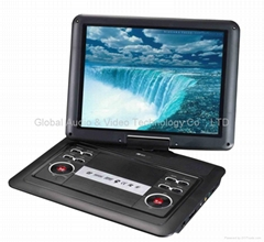 14.8 Inches Portable DVD Player TFT LCD Screen With Car Charger ,Remote Control,