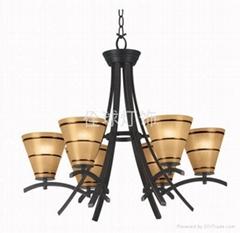 高擋歐式典美鐵藝燈 家居燈飾