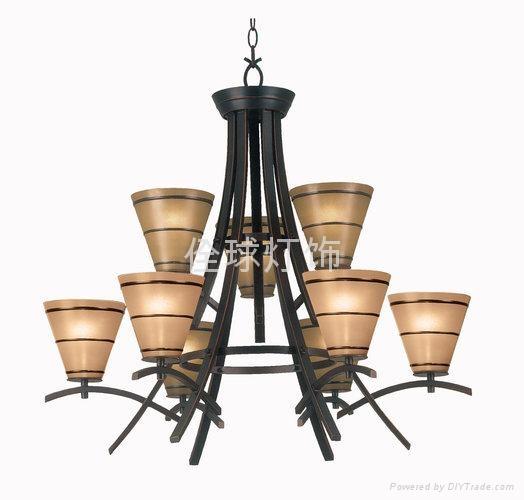 高擋歐式典美鐵藝燈 家居燈飾 3