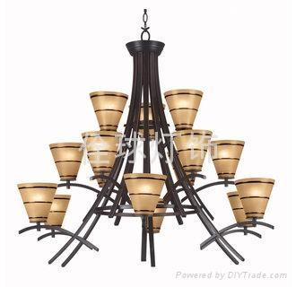 高擋歐式典美鐵藝燈 家居燈飾 4