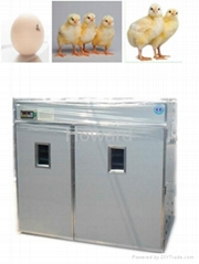 CE certificated Full-automatic Poultry Egg Incubator YZITE-23