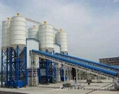 广东惠州供应联华HZS240商品混凝土搅拌站