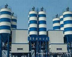 广东茂名供应联华HZS180型混凝土搅拌站