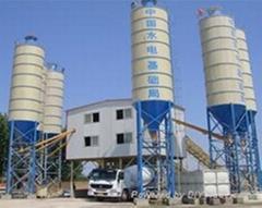 广东梅州供应联华HZS90混凝土搅拌站设备