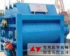 河北邢台供应联华JS2000双卧轴强制式混凝土搅拌机