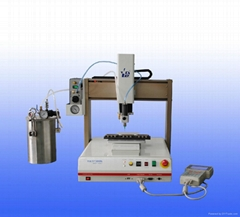 Adhesive dispenser robot manufacotry