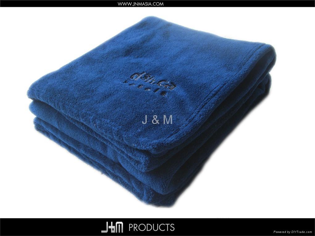 Cheap Micro-raschel Fleece Throw Plaid 4