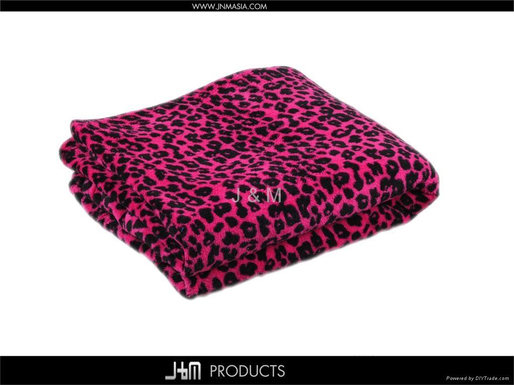 Cheap Micro-raschel Fleece Throw Plaid 5