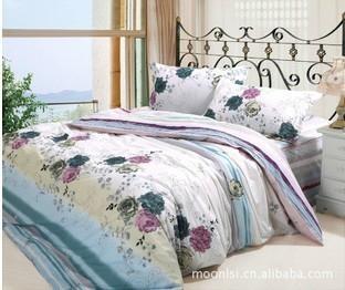 浙江省2011最新款全棉床上用品4件套批发 1