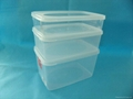 PP clear plastic storage box
