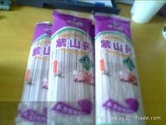 紫山药面条