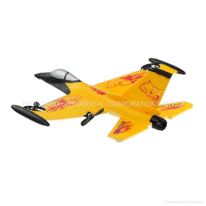 how to make rc fighter plane