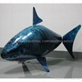 RC REMOTE CONTROLLED Air Swimmers Flying Fish SHARK