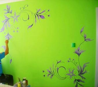 提供成都手绘墙