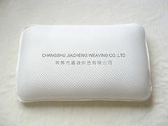 3D air mesh fabric pillow