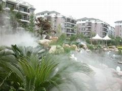 售樓部與園林景觀人造霧