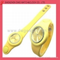 2012 Quartz Children Watch with Silicone Strap