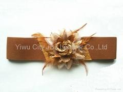 elastic woven corset belt
