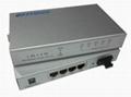 5 ports Gigabit Ethernet Optical Fiber Switch 2
