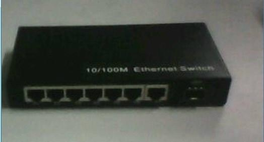 5 ports Gigabit Ethernet Optical Fiber Switch 5