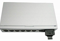 8 ports Gigabit Ethernet Optical Fiber Switch