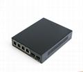 6 ports Gigabit Ethernet Optical Fiber