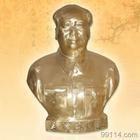 人物雕塑銅雕毛主席像