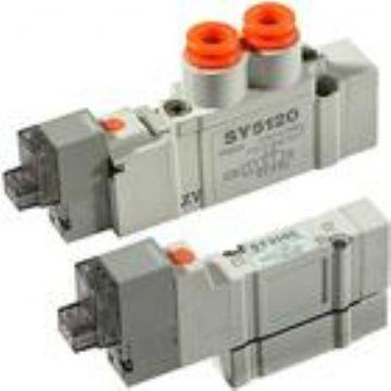 smc电磁阀 sy7120-4dd-02图片