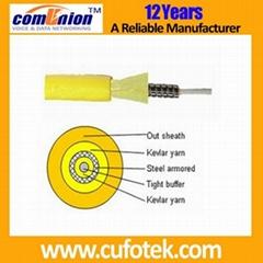 Simplex Armored Fiber Optic Cable
