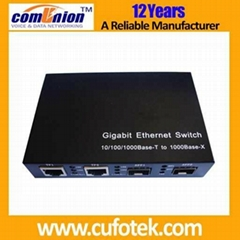 Four ports 10/100/1000M Ethernet Switch