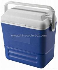 16L 塑料攜帶方便式冷藏箱