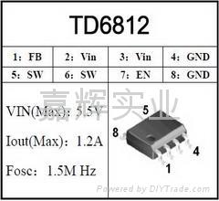 PWM DC/DC TD681
