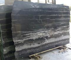 black flower marble