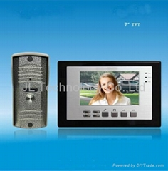 China wholesale price 7 inch memory funtion video intercom